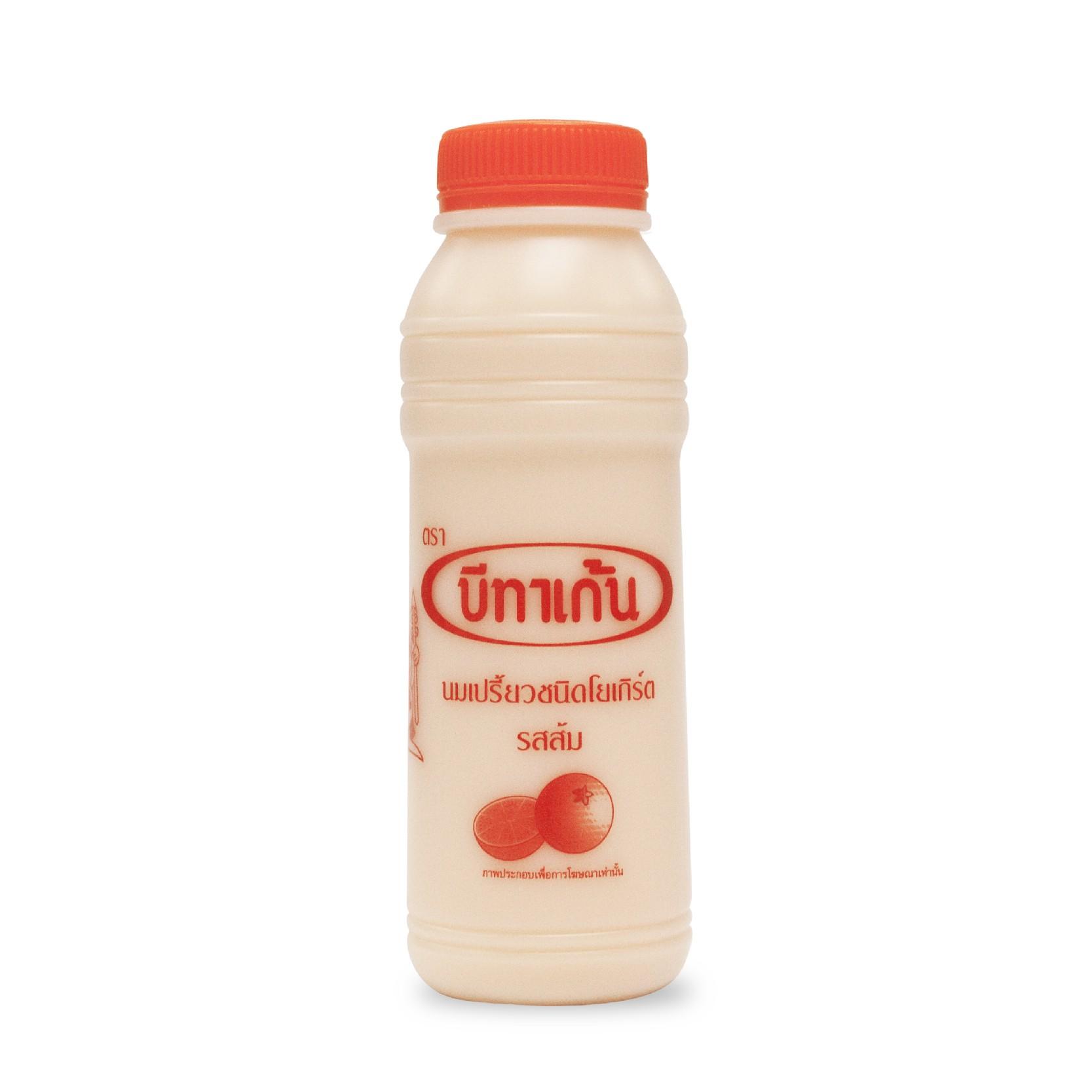 นมเปรี้ยวบีทาเก้นรสส้ม